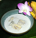 Bananas in Coconut milk