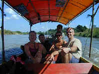 Boat trip on the Kok River